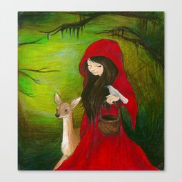 Lil' Red Canvas Print