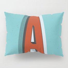 Letter A Pillow Sham