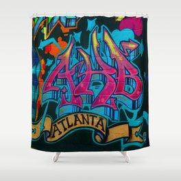 ATL Graffiti Shower Curtain