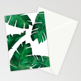 Banana leafs Stationery Cards