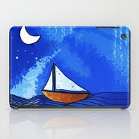 sailing iPad Cases featuring Sailing by Brontosaurus
