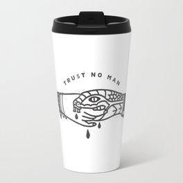 Trust No Man Travel Mug