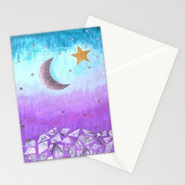 Mister moon Stationery Cards