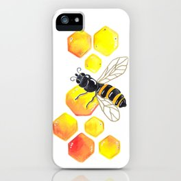 Honey Bee iPhone Case