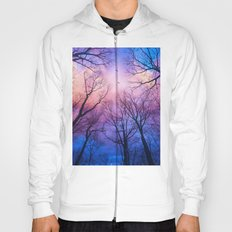 A New Day Will Dawn  (Day Tree Silhouettes) Hoody
