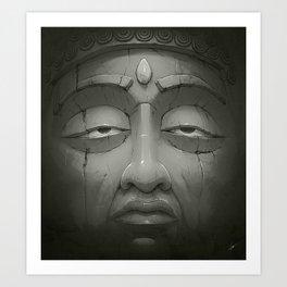 Buddha III Art Print