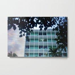 MM 127 . Cuba Building Metal Print