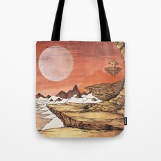 TIME WORN ETHER Tote Bag