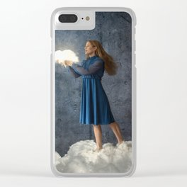 Cherish your Dreams Clear iPhone Case