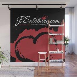 JB Salsbury Blood Heart Wall Mural