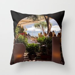 Sirmione_00 Throw Pillow