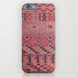 V21 New Traditional Moroccan Design Carpet Mock up. iPhone Case