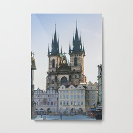 Church of Our Lady before Tyn in Prague Metal Print