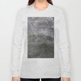 foil cloud wrinkle structured surface Long Sleeve T-shirt