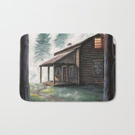 Cabin in the Pines Bath Mat