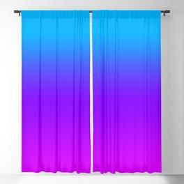 Blue/Pink Gradient Blackout Curtain