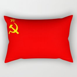 ussr cccp russia soviet union communist flag Rectangular Pillow
