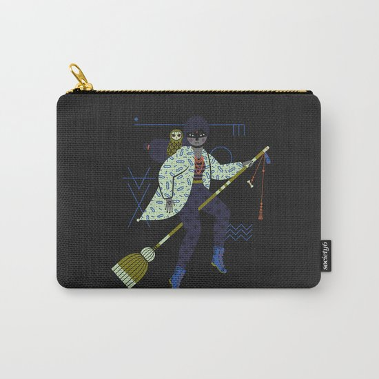 Witch Series: Broomstick Carry-All Pouch