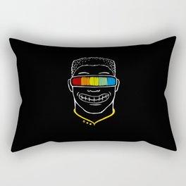 Seeing Rainbow Rectangular Pillow