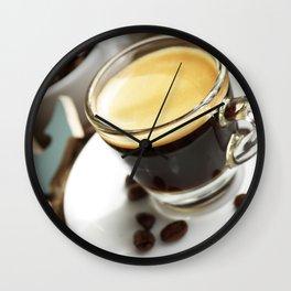 #Espresso #fresh #coffee #Maritim #home #decors Wall Clock