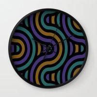 ramen Wall Clocks featuring ramen by bigpoppae