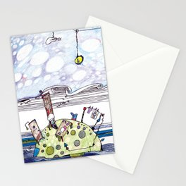 Home in the Sea Stationery Cards