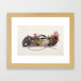 THE GARDEN THAT YOU PLANTED Framed Art Print