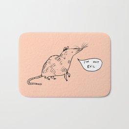 Rats Aren't Evil Bath Mat