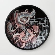 IT´S ALWAYS DOOMSDAY Wall Clock