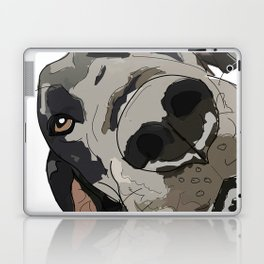 I Wuf You - Great Dane Laptop & iPad Skin