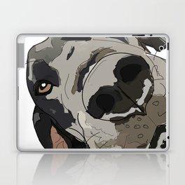I Wuf You - Great Dane Laptop & iPad Skin