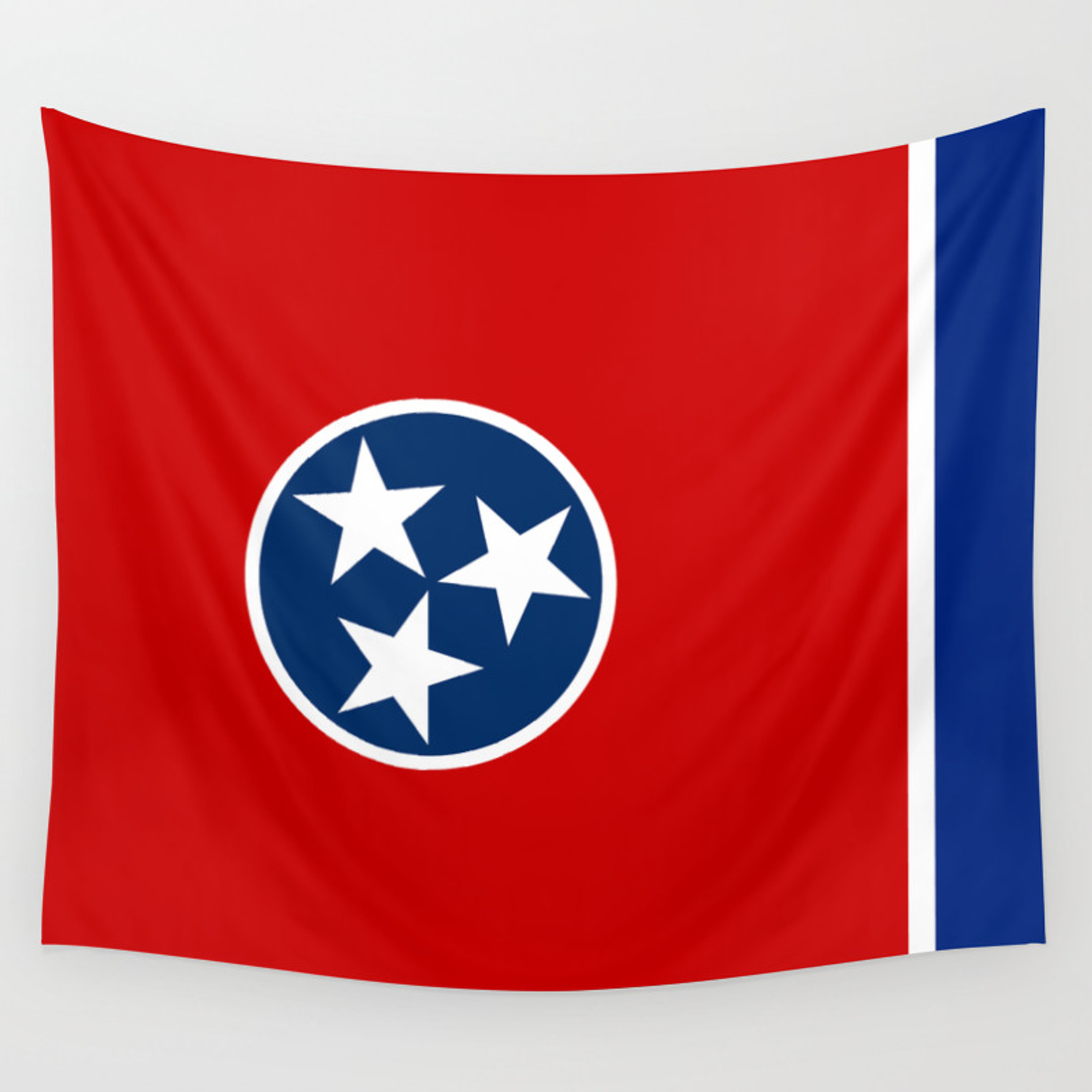 Tennessee State Flag Wall Tapestry By Bauhaus Society6