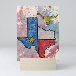 Texas Mini Art Print