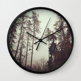 ShadesOfForest Wall Clock