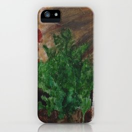 Natures Anger iPhone Case