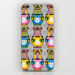 Chestnut Girl Matrioshkas iPhone Skin