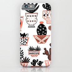 Mid-Century Modern Cacti  iPhone 6 Slim Case
