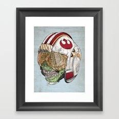 Zombie Alliance Framed Art Print
