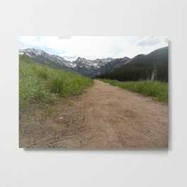 Mountain Trail to Paradise Metal Print