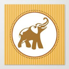 Elephant Print Canvas Print