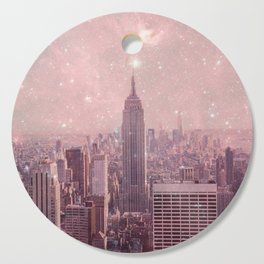 Stardust Covering New York Cutting Board