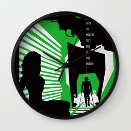Hardboiled :: Double Indemnity :: James M. Cain Wall Clock