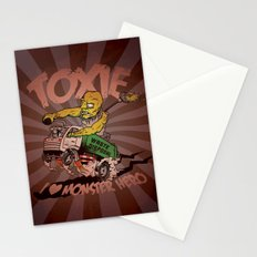 I (HEART) MONSTER HERO Stationery Cards