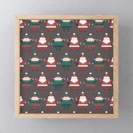 Toy Factory (Patterns Please) Framed Mini Art Print