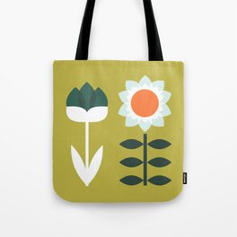 Set Sun Olive Tote Bag