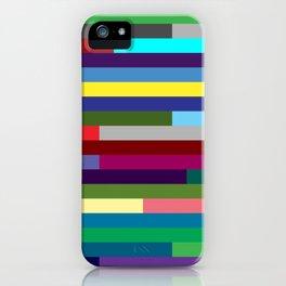 Lignes 17 iPhone Case