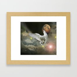 New Worlds -Coming Home Framed Art Print