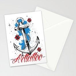 Anchor Arttattoo Stationery Cards