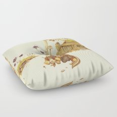 Harvey the Greedy Chipmunk Floor Pillow
