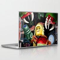 metroid Laptop & iPad Skins featuring LEGO Metroid!! by Meteo Designs